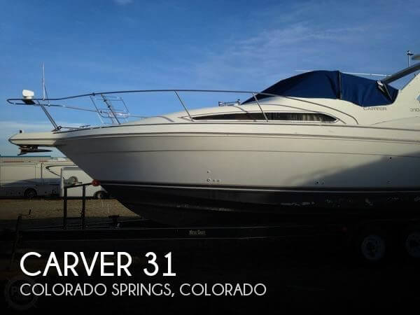 Used Boats For Sale in Colorado Springs, Colorado by owner | 1996 Carver 31