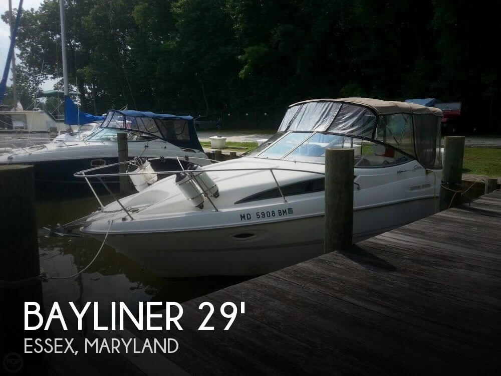 Used Bayliner Boats For Sale in Maryland by owner | 2001 Bayliner 29