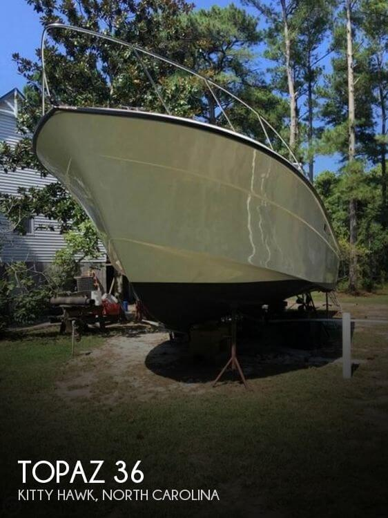 Used Fishing boats For Sale in North Carolina by owner | 1981 Topaz 36