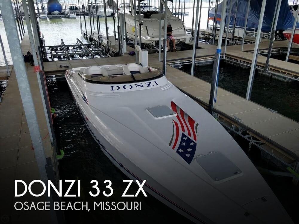 2002 Donzi 33 ZX