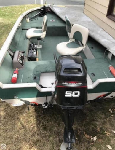 Crestliner Fish Hawk 1650, 16', for sale - $14,750