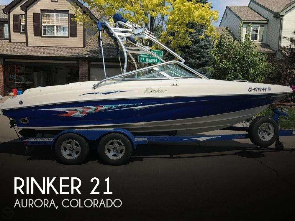 Used Rinker 21 Boats For Sale by owner | 2005 Rinker 21