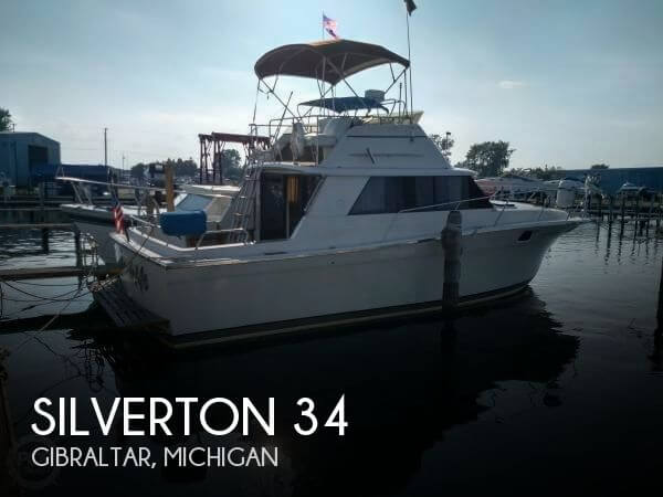 Used Fishing boats For Sale in Michigan by owner | 1982 Silverton 34