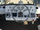 New Flybridge Gauges, Depth Instrument, Controls, Steering Wheel, Compass