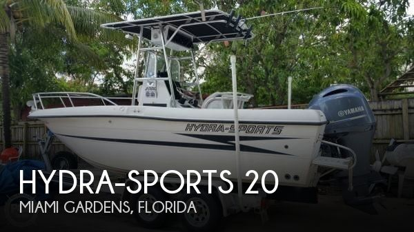Used Hydra-Sports Boats For Sale by owner | 1993 Hydra-Sports 20