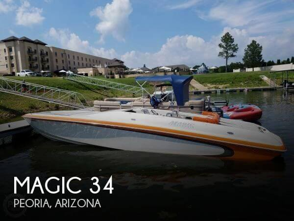 Used Boats For Sale in Phoenix, Arizona by owner | 2007 Magic 34