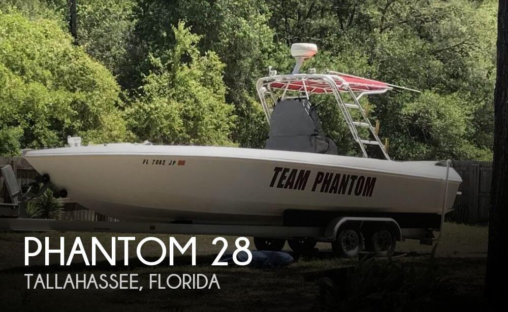 Used Boats For Sale in Tallahassee, Florida by owner | 1997 Phantom 28