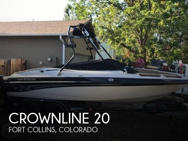 Used Boats For Sale in Cheyenne, Wyoming by owner | 2001 Crownline 20