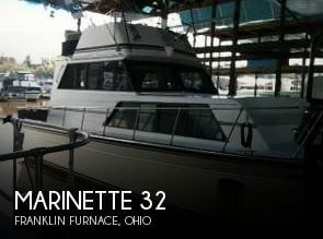 Used Motoryachts For Sale in Ohio by owner | 1987 Marinette 32