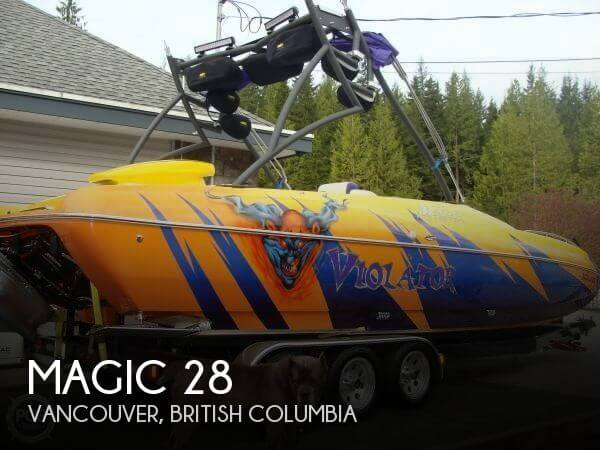 Used Deck Boats For Sale by owner | 2005 Magic 28