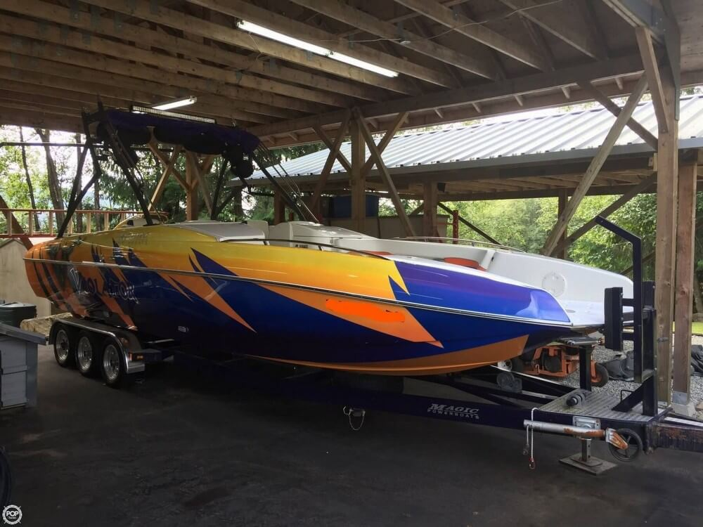 Magic 28 deck boat boat for sale in mission bc for 87800 135074 bow rail trailer light bar aloadofball Image collections