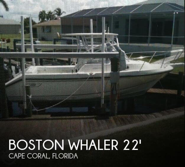 Used Boston Whaler Boats For Sale in Florida by owner | 1999 Boston Whaler 22