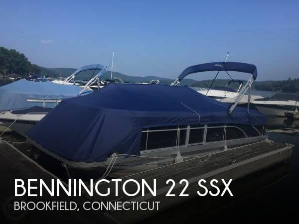 2017 Bennington boat for sale, model of the boat is 22 SSX & Image # 1 of 41