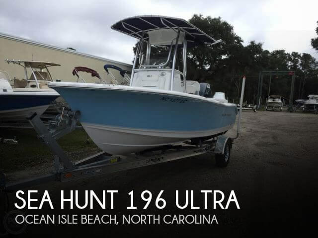 Used Ski Boats For Sale in North Carolina by owner | 2015 Sea Hunt 19