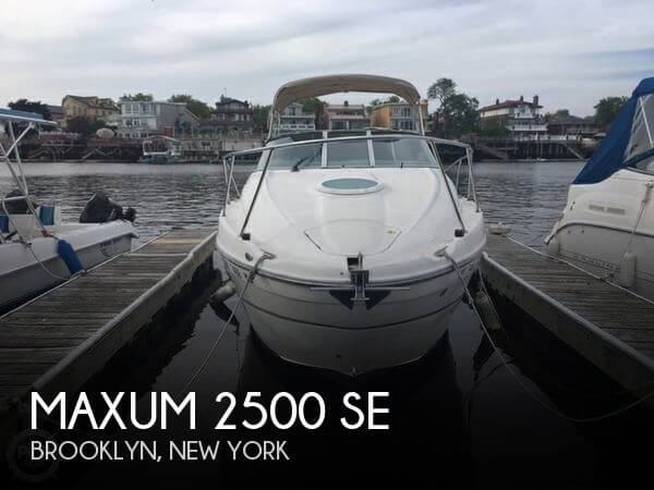 Used Maxum Boats For Sale in New York by owner | 2003 Maxum 25