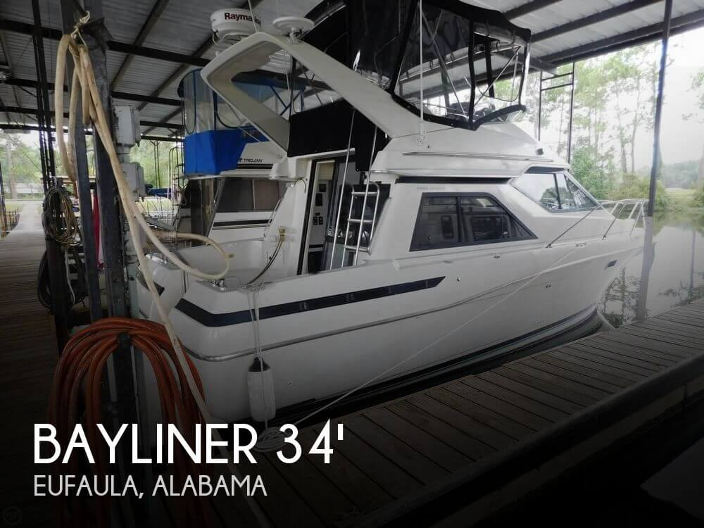 Used Boats For Sale in Columbus, Georgia by owner | 1997 Bayliner 34
