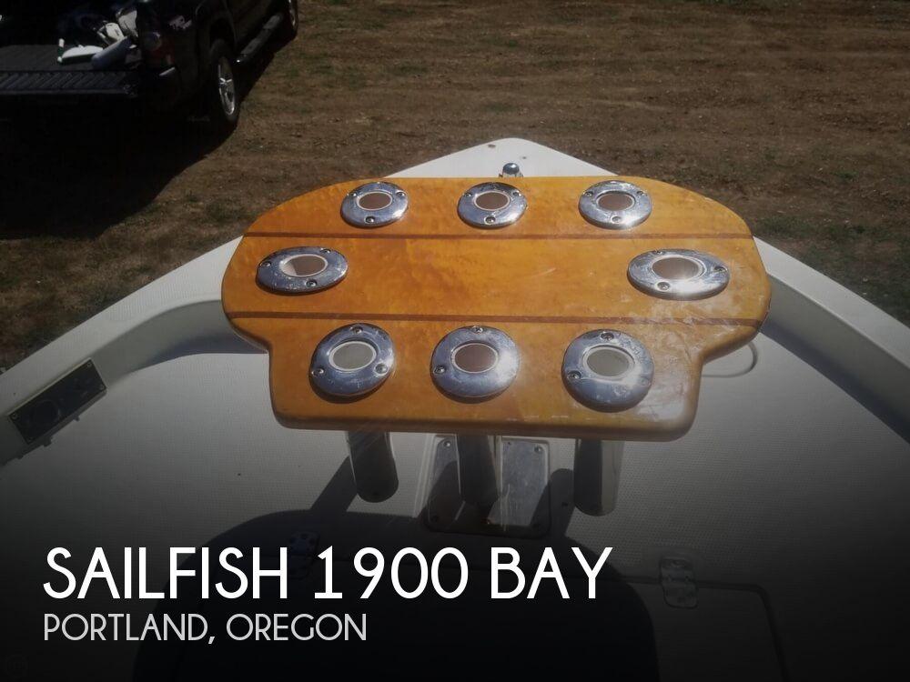 2008 SAILFISH 1900 BAY for sale