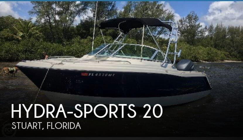 Used Hydra-Sports Boats For Sale by owner   2005 Hydra-Sports 20