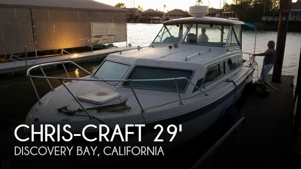 Used Chris-Craft Boats For Sale in California by owner | 1984 Chris-Craft Catalina 281