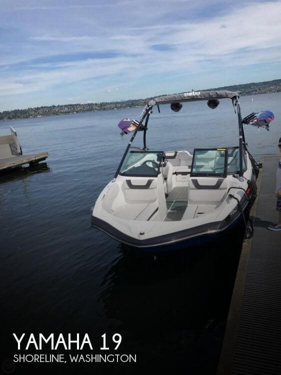 Used Yamaha Boats For Sale in Seattle, Washington by owner | 2014 Yamaha 19