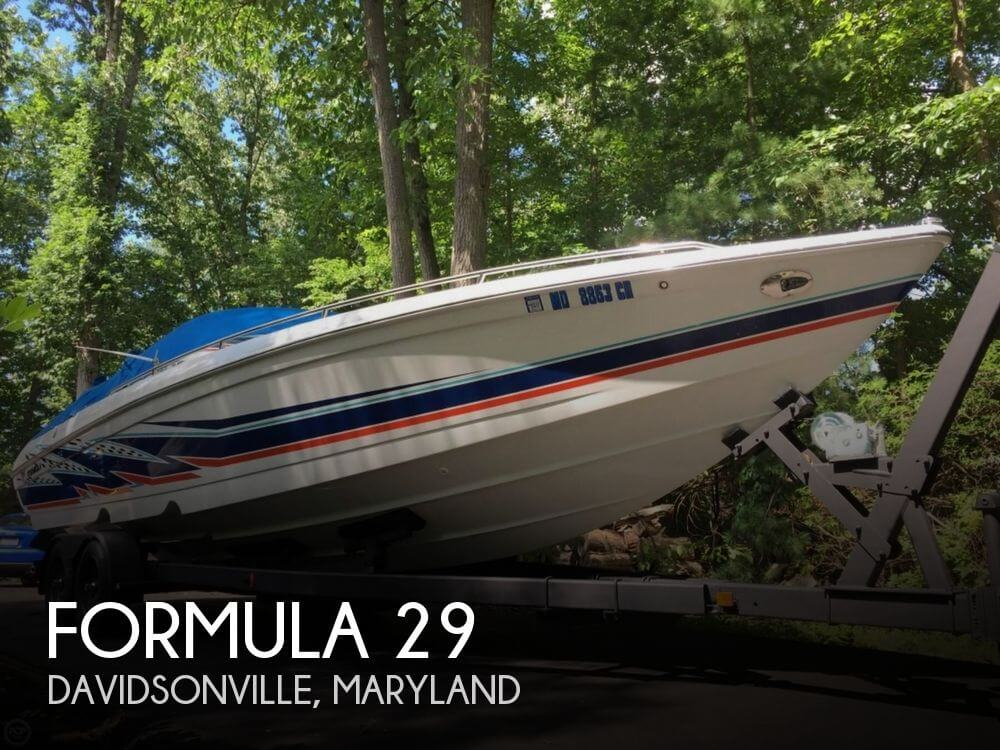 Used Boats For Sale in Hagerstown, Maryland by owner | 2002 Formula 29