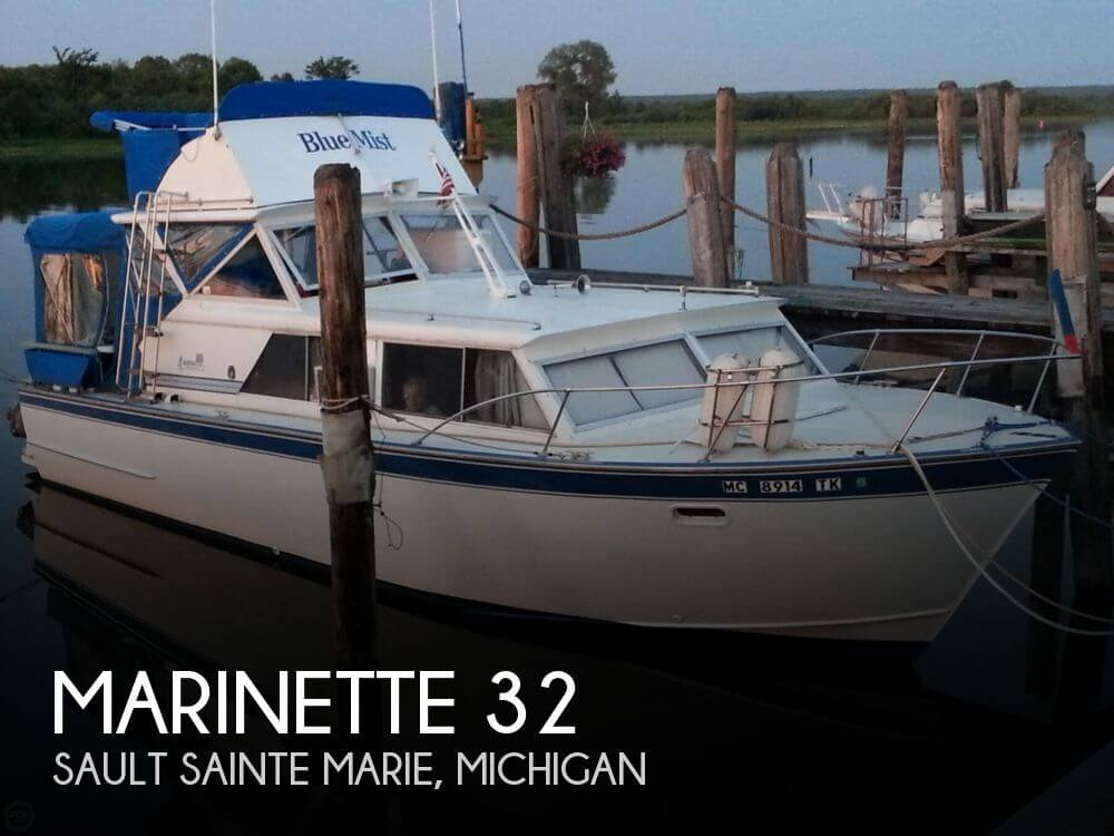 Used Motoryachts For Sale in Michigan by owner | 1969 Marinette 32