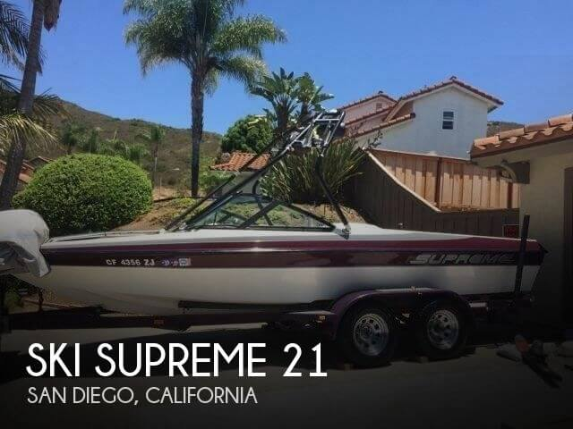Used Ski supreme Boats For Sale by owner | 2002 Ski Supreme 21
