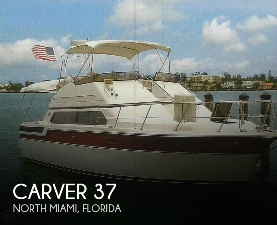 Used Carver 37 Boats For Sale by owner | 1990 Carver 37