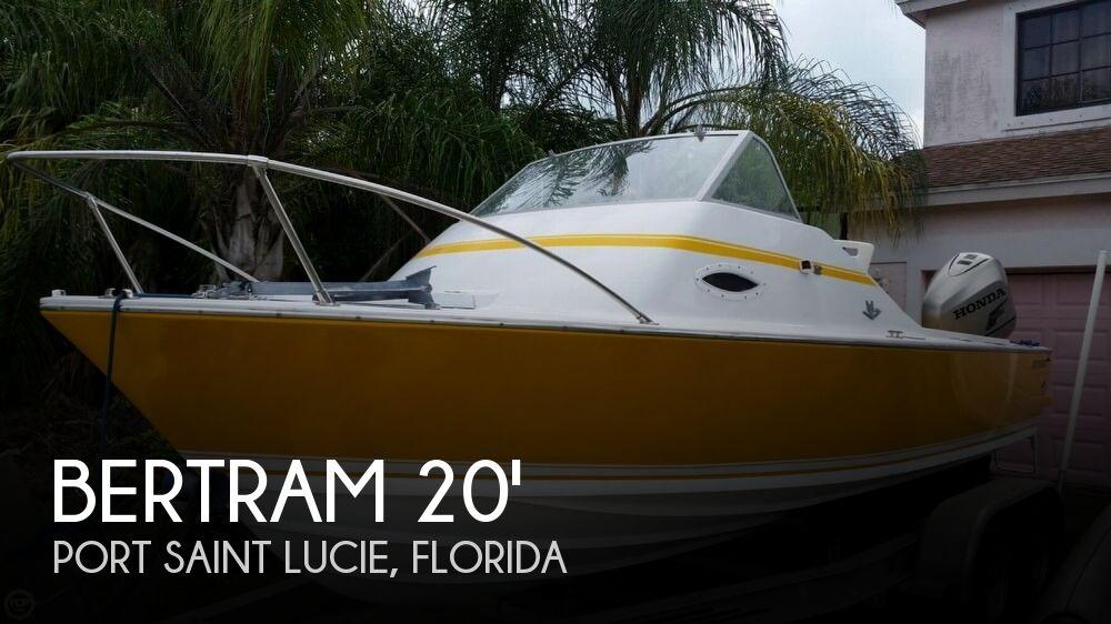 1968 Bertram boat for sale, model of the boat is 20 Bahia Mar & Image # 1 of 40