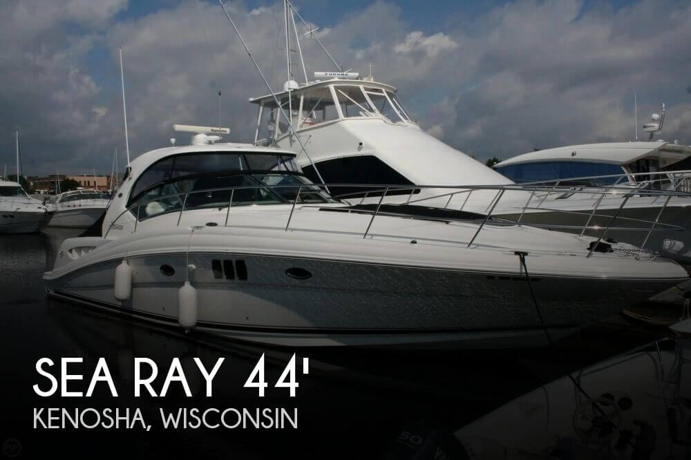 Used Boats For Sale in Wisconsin by owner | 2008 Sea Ray 45