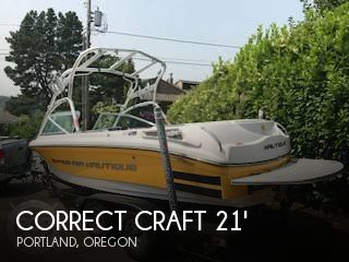 Used Boats For Sale in Portland, Oregon by owner | 2008 Correct Craft 21