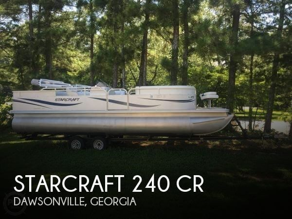 Used Pontoon Boats For Sale in Georgia by owner | 2006 Starcraft 24