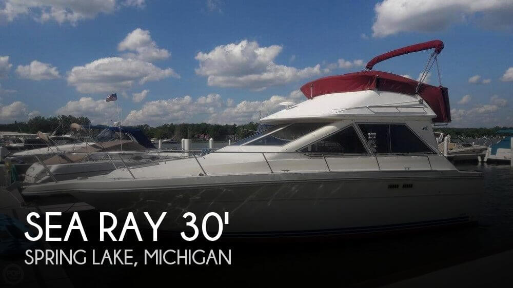 Used Sea Ray Boats For Sale in Michigan by owner | 1988 Sea Ray 30