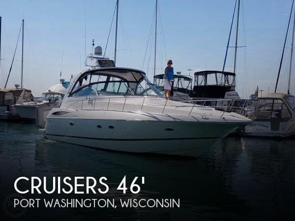 Used Boats For Sale in Wisconsin by owner | 2003 Cruisers Yachts 46