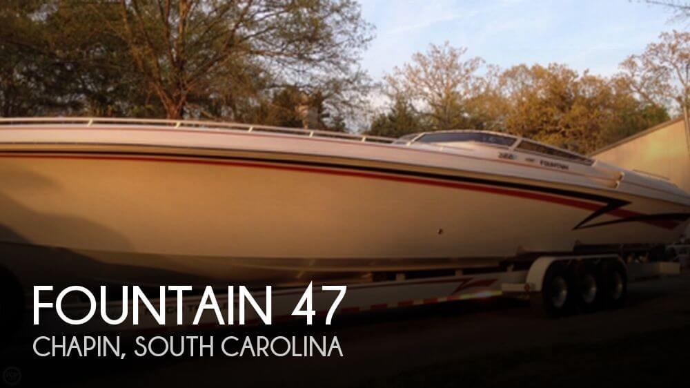 Used Boats For Sale in Spartanburg, South Carolina by owner | 2005 Fountain 47
