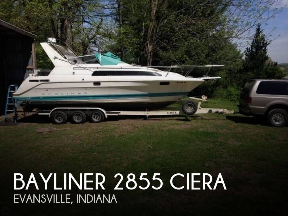 Used Boats For Sale in Evansville, Indiana by owner | 1993 Bayliner 28