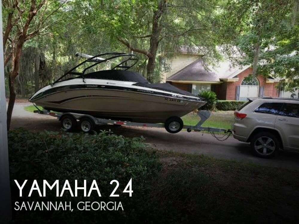 Used Yamaha Boats For Sale in Georgia by owner   2012 Yamaha 24