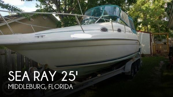 Used Sea Ray 25 Boats For Sale by owner   1996 Sea Ray 25