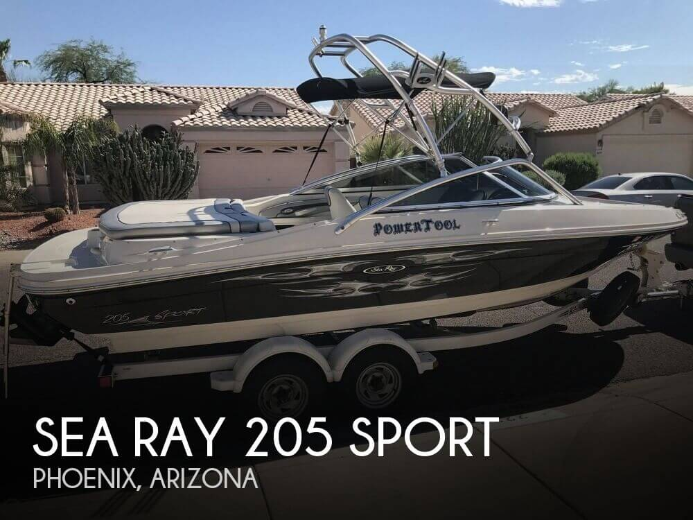 Used Sea Ray 205 Sport Boats For Sale by owner | 2008 Sea Ray 205 Sport