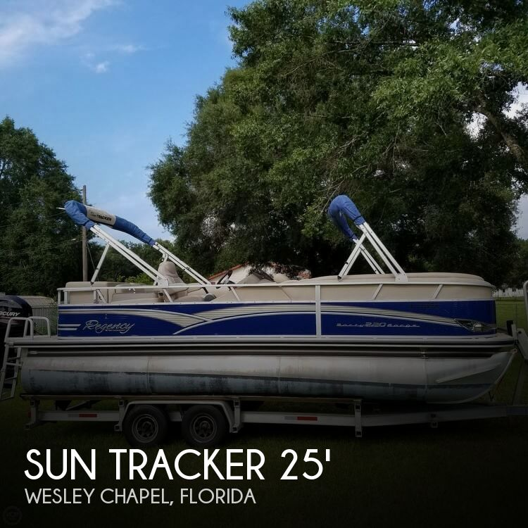 Used Pontoon Boats For Sale in Florida by owner | 2013 Sun Tracker 25
