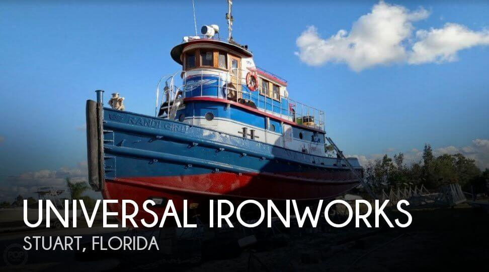 Used Boats For Sale in Port St. Lucie, Florida by owner | 1963 Universal Ironworks 49