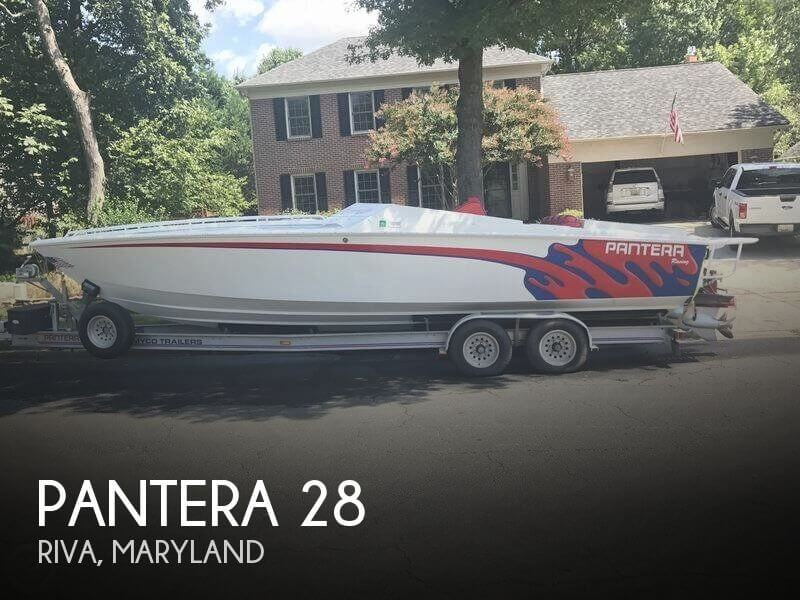 Used Pantera Boats For Sale by owner | 1998 Pantera 28