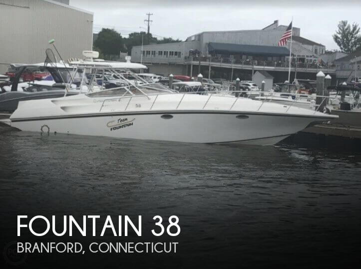 Used Fountain Boats For Sale by owner | 2004 Fountain 38