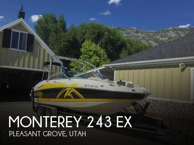 Used Boats For Sale in Provo, Utah by owner | 2007 Monterey 24