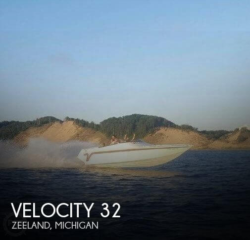 Used Boats For Sale in Kalamazoo, Michigan by owner | 1997 Velocity 32