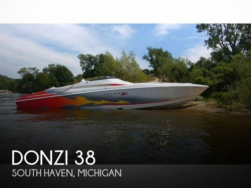 Used Boats For Sale in Michigan by owner | 2005 Donzi 38