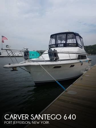 Used Carver 38 Boats For Sale by owner | 1991 Carver Santego 638