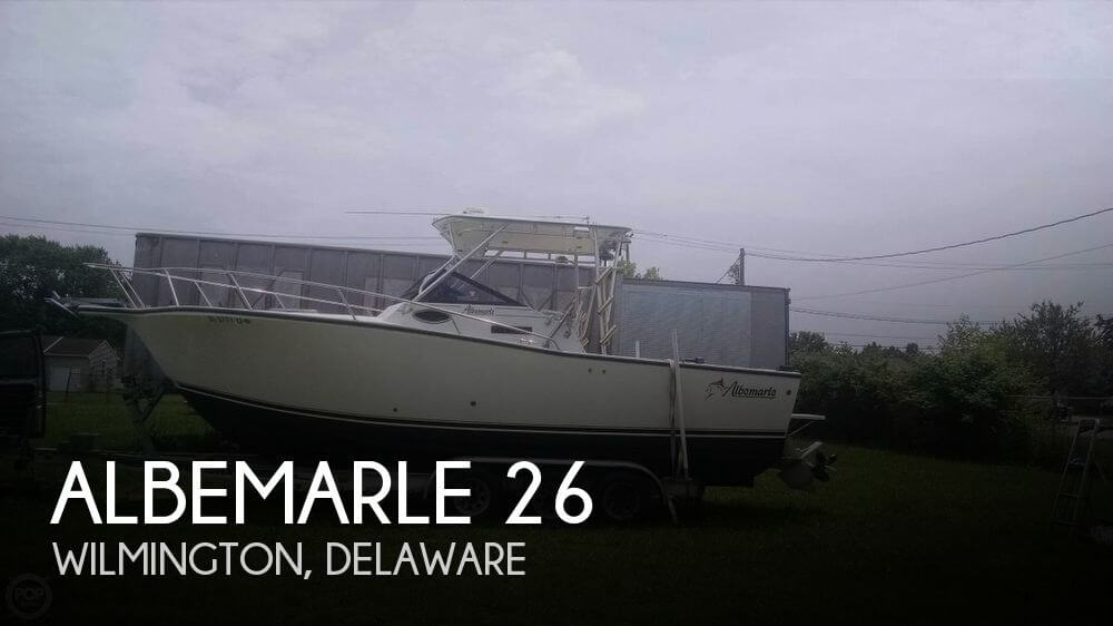 Used Boats For Sale in Allentown, Pennsylvania by owner | 1996 Albemarle 26
