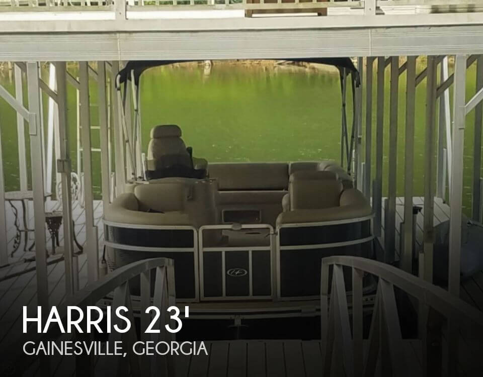 Used Pontoon Boats For Sale in Georgia by owner | 2011 Harris 23