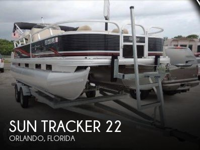 Used Sun Tracker Pontoon Boats For Sale by owner | 2013 Sun Tracker 22